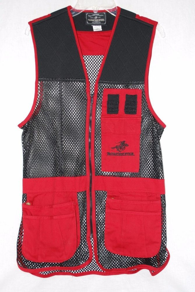 Winchester Rugged Sportsman Outdoors Vest XL Red Trap Clay