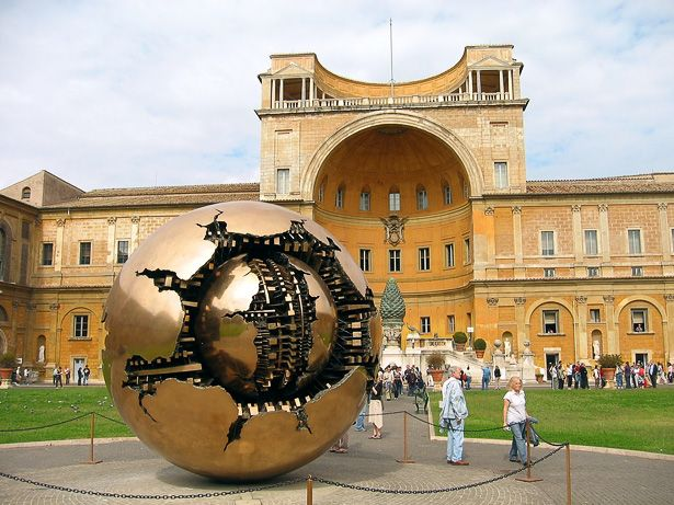 The Vatican Museums in Rome Not even hiding the fact they have the Apple of Eden