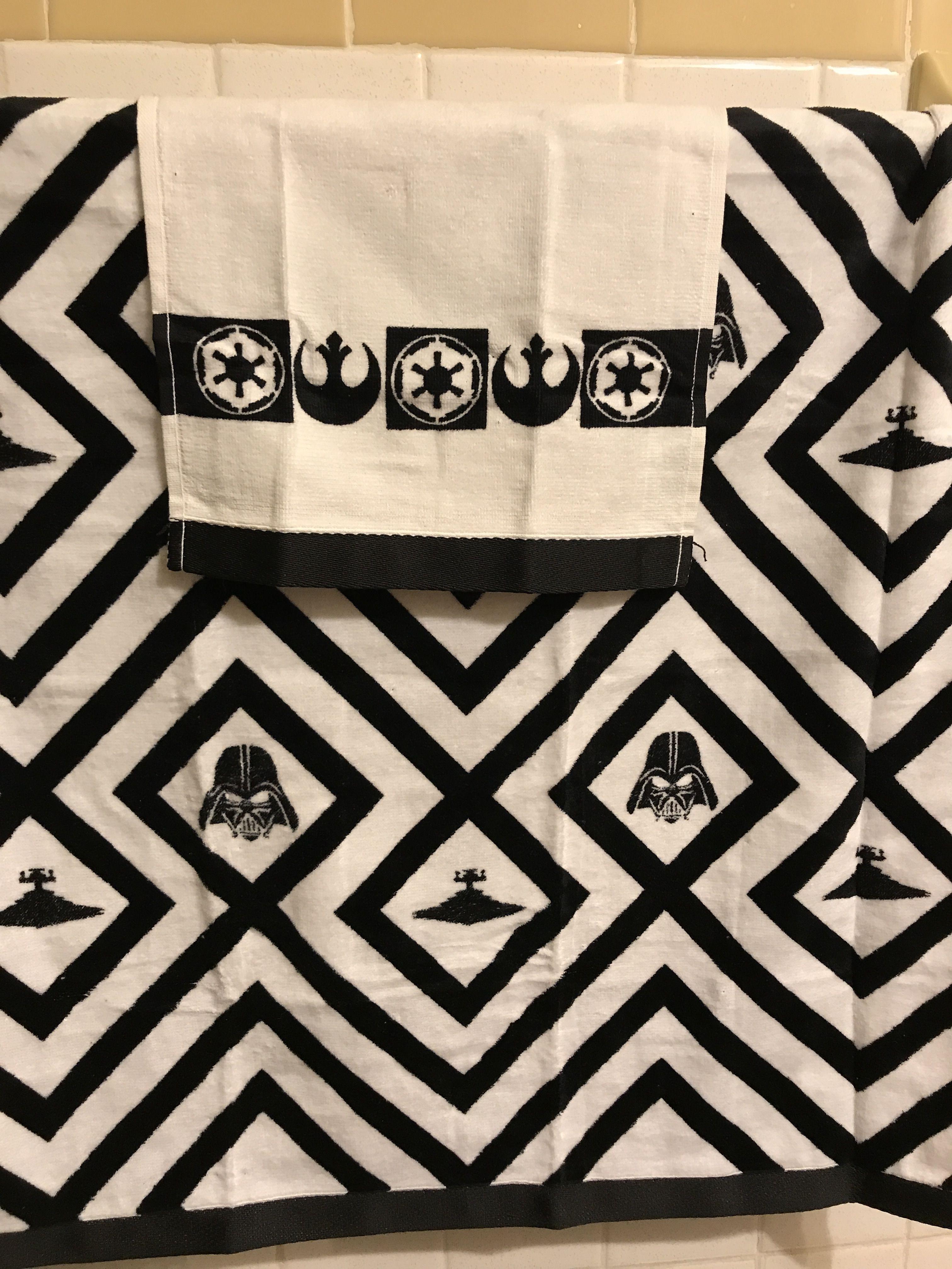 Star Wars towels bathroom decor | Animal print rug ...