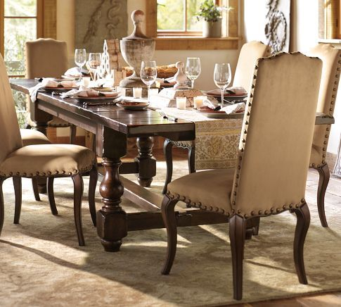 I Love The Old World Tuscan Style Of The Table Paired With A Touch