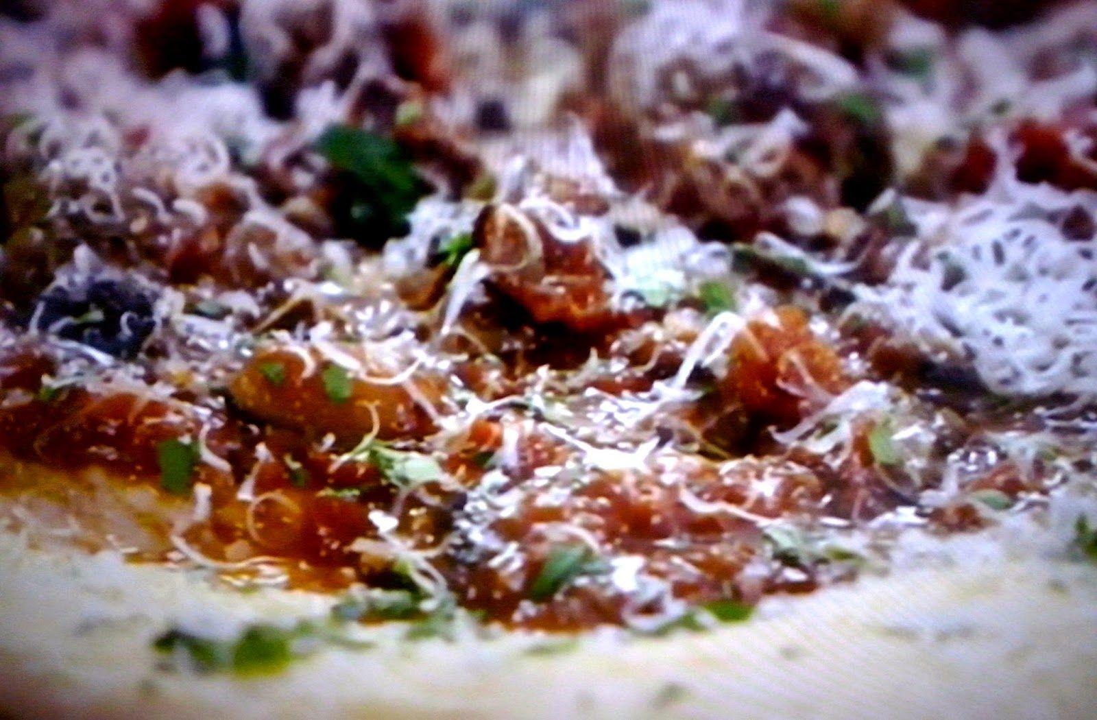 La+cucina+tradotta+di+Jamie:+Polpette+alla+norma+e+polenta