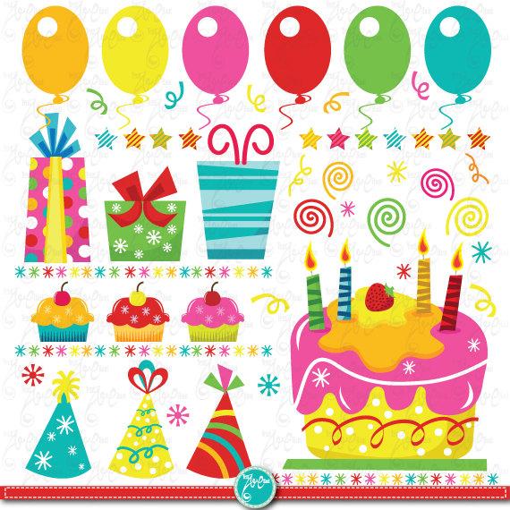 Birthday party clip art
