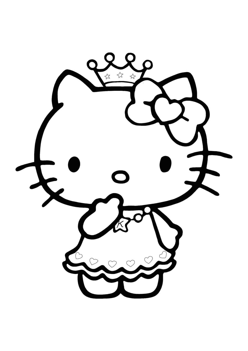 Hello Kitty Princess Coloring Pages 2 Free Coloring Sheets 2020 Princess Coloring Pages Princess Kitty Princess Coloring