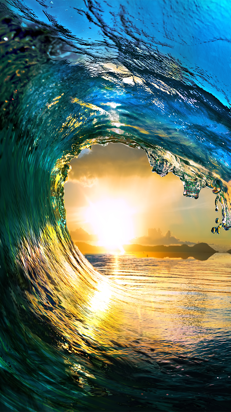 TAP AND GET THE FREE APP! Art Creative Water Sea Waves Sun