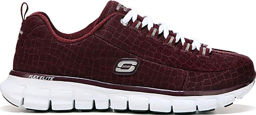Burgundy Color. Casual athletic style