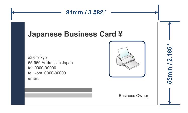 Typische Visitenkarten Größe In Cm In Verbindung Mit