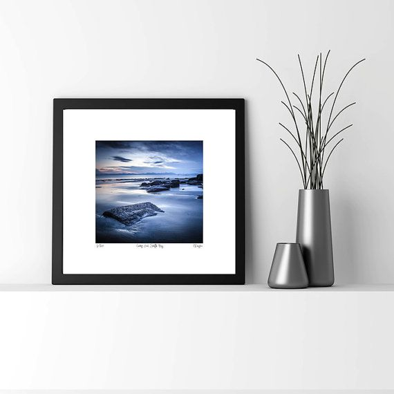 Extra large art print, Limited Edition Photograph, Lilac, sunset, square print,  Isle of Skye Scotland, Staffin
