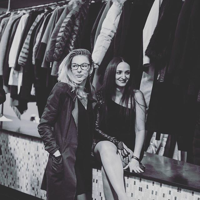#Fashion #designer @milacardi and @elladoncom at a #Fashionshow She is one of my very good #friends since I meet her we got different #personalities but we good that very good #workflow together. Very talented designer www.milacardi.com