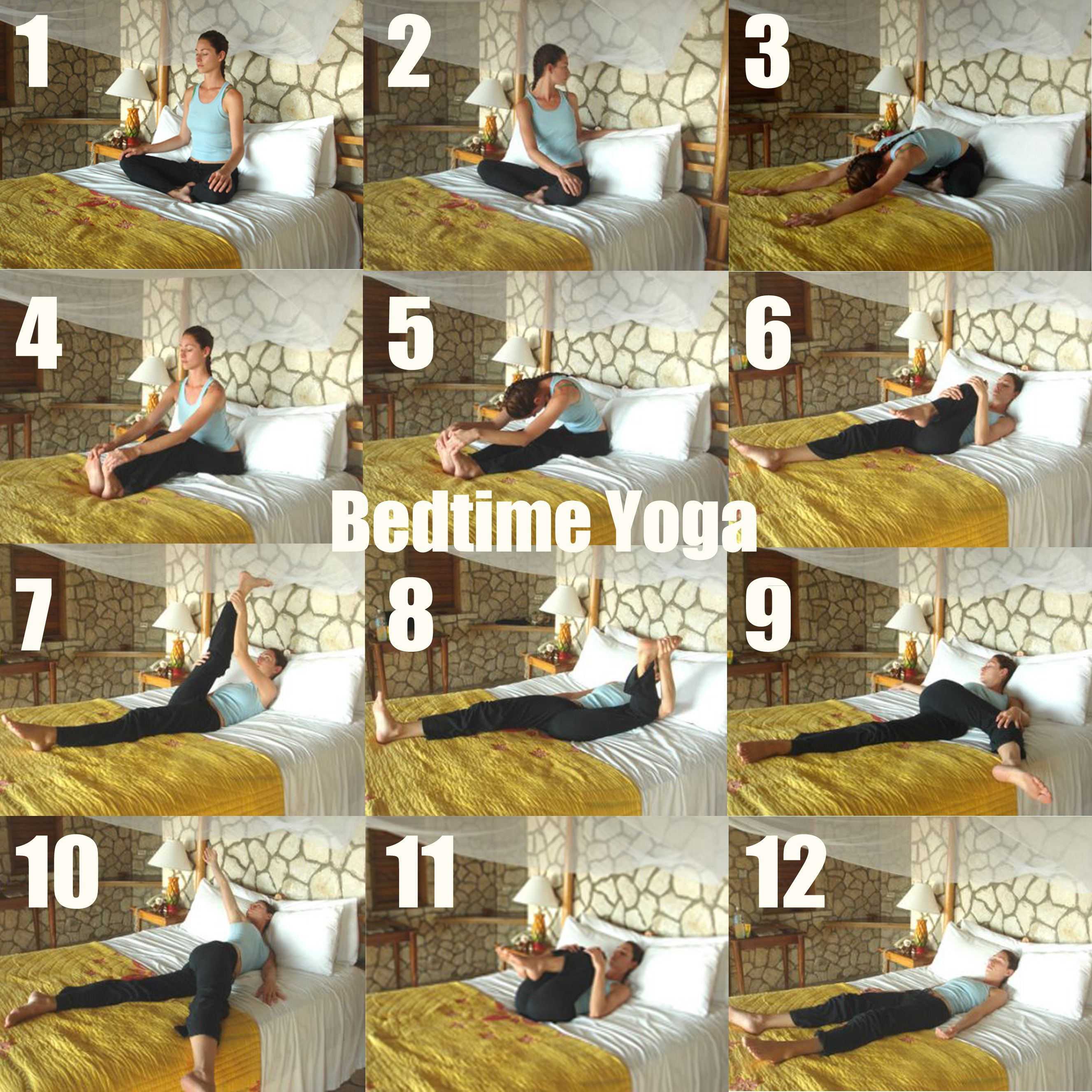 Yoga for Bedtime Bedtime yoga, Night yoga, Sleep yoga