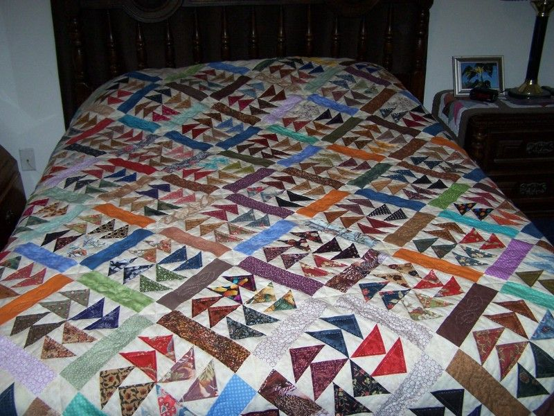 Quilt In A Day My Dutchmans Puzzle Quilt Quilting Photos