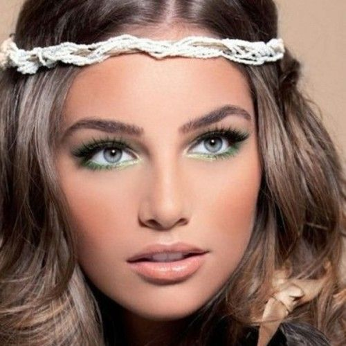 Image result for boho summer makeup