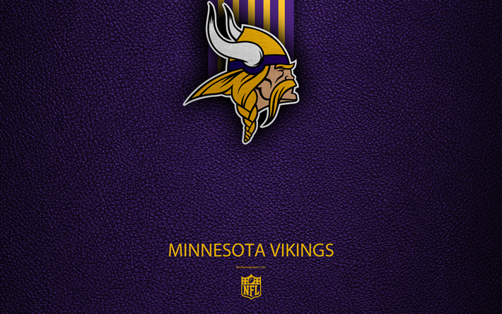 Download wallpapers Minnesota Vikings, 4k, american
