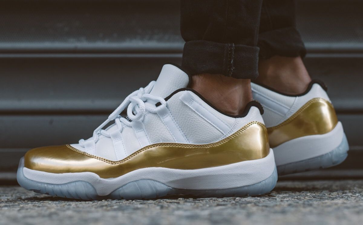 b4b7fabc6418 Check Out These On-Feet Shots Of The Air Jordan 11 Low Closing Ceremony