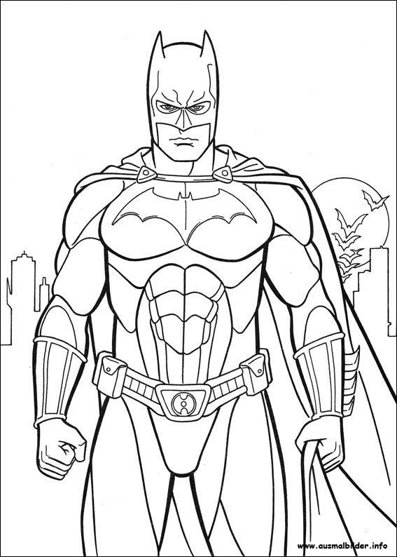 Batman Ausmalbilder Gratis Ausmalbilder Fur Kinder Ausmalbilder Jungs Superhelden Malvorlagen Ausmalbilder