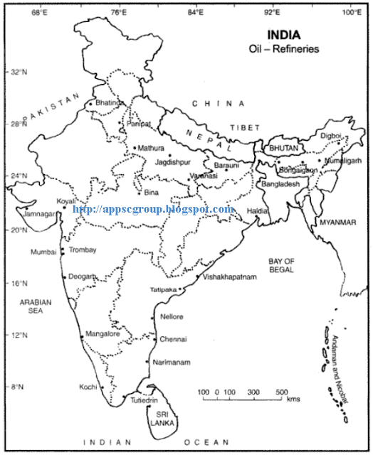 oil refineries of india
