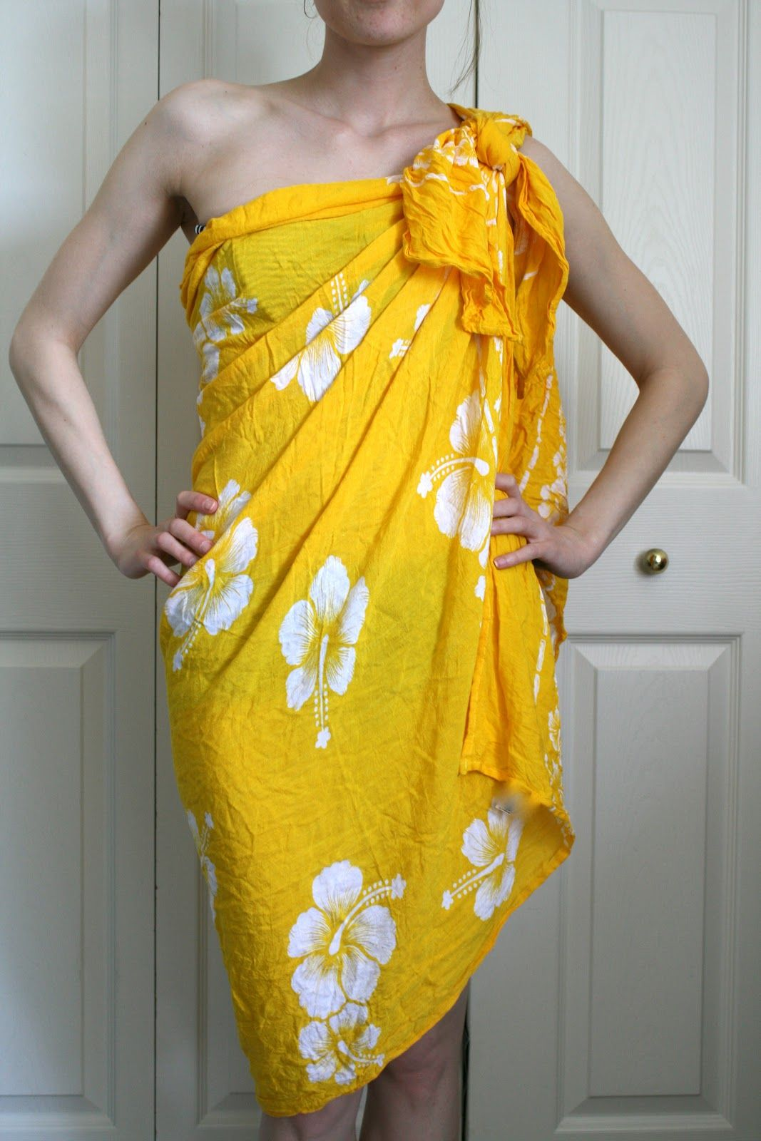 how to make a sarong cover up