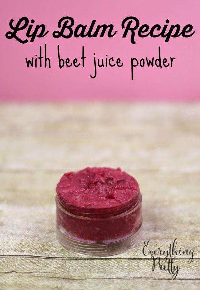 4c4d027ef0b9f Tinted Lip Balm Recipe with Beet Juice Powder | DIY Bath and Body ...