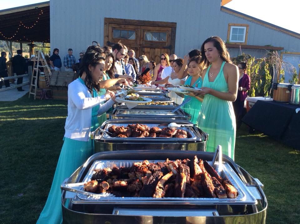 Montana Q Bbq Wedding Catering Catering Los Angeles