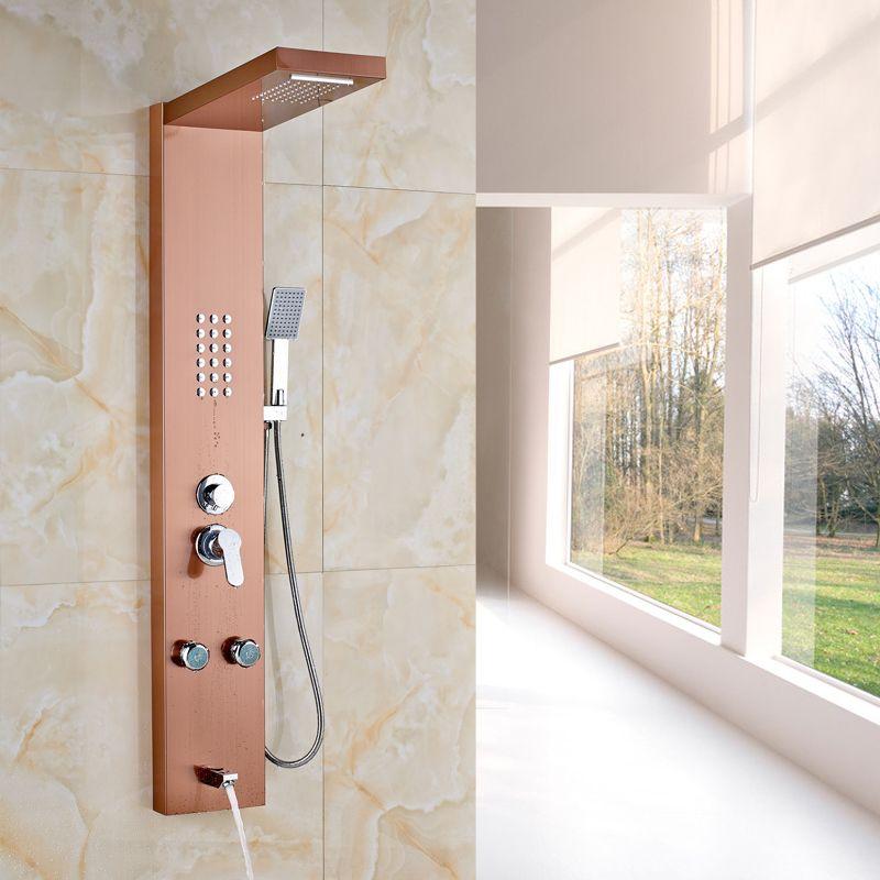 $133.25   Stainless Steel High Quality Bathroom Shower Panels Bath ...