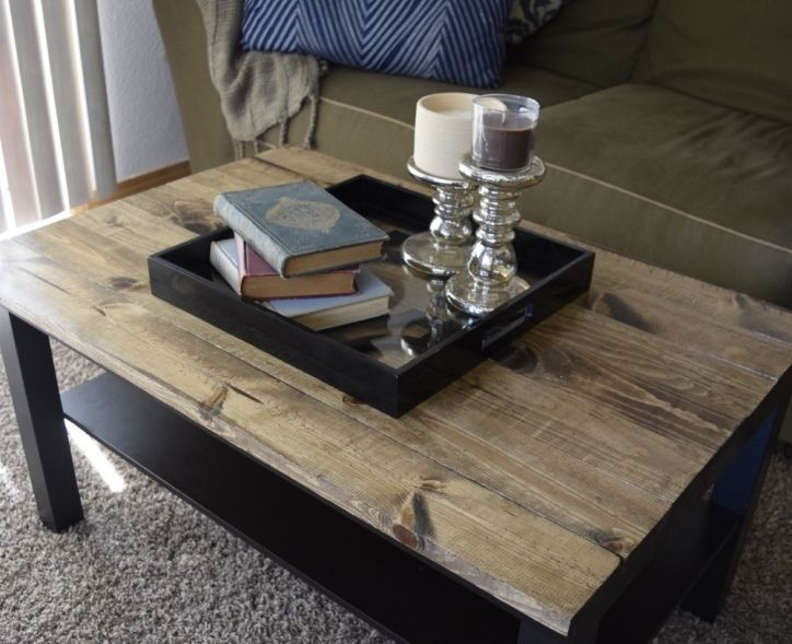 Coffee Table Makeover Ikea coffee table Coffee table makeover and