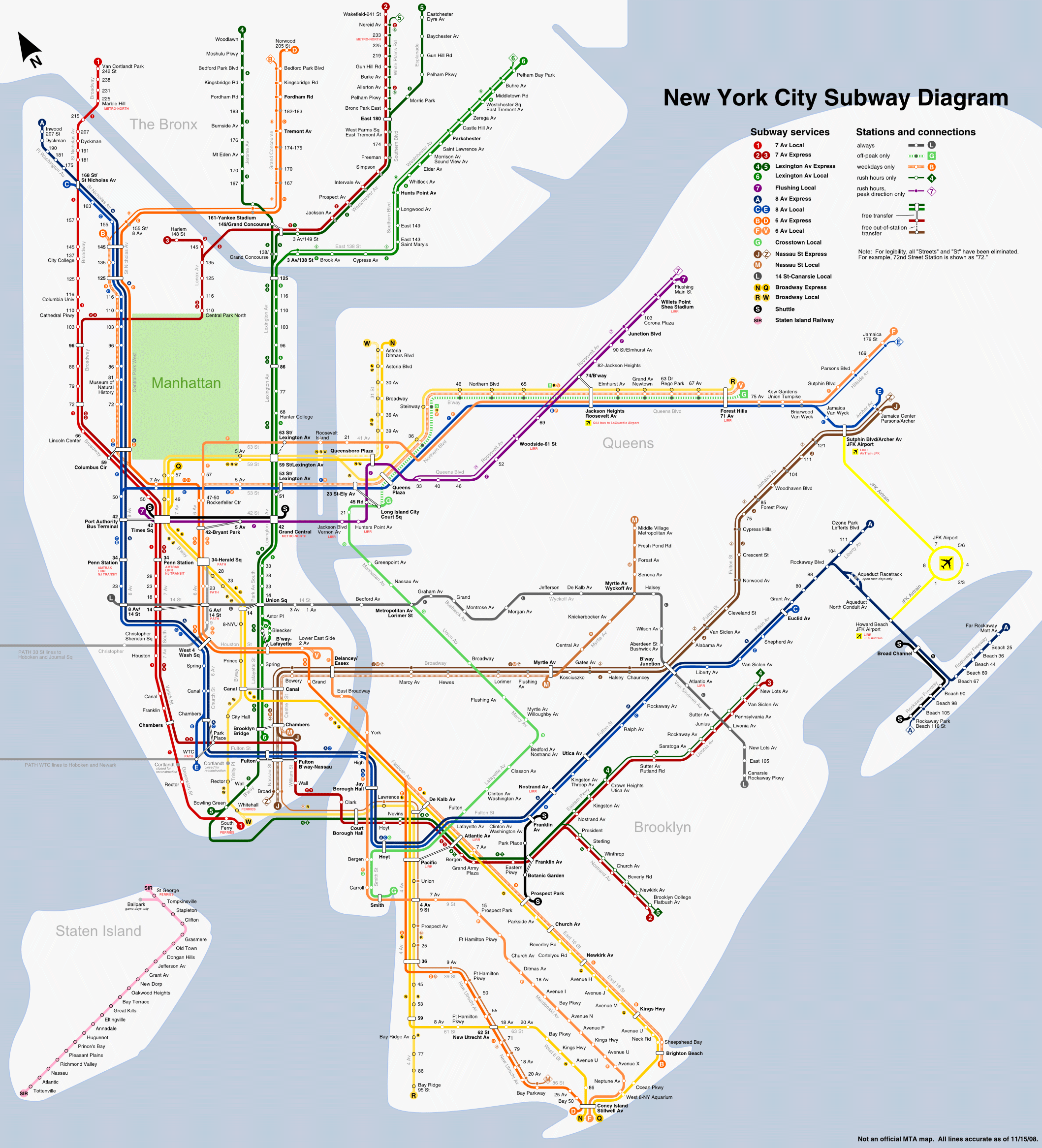 Destination Style Lookbook Subway Map City And Underground - Nyc metro map