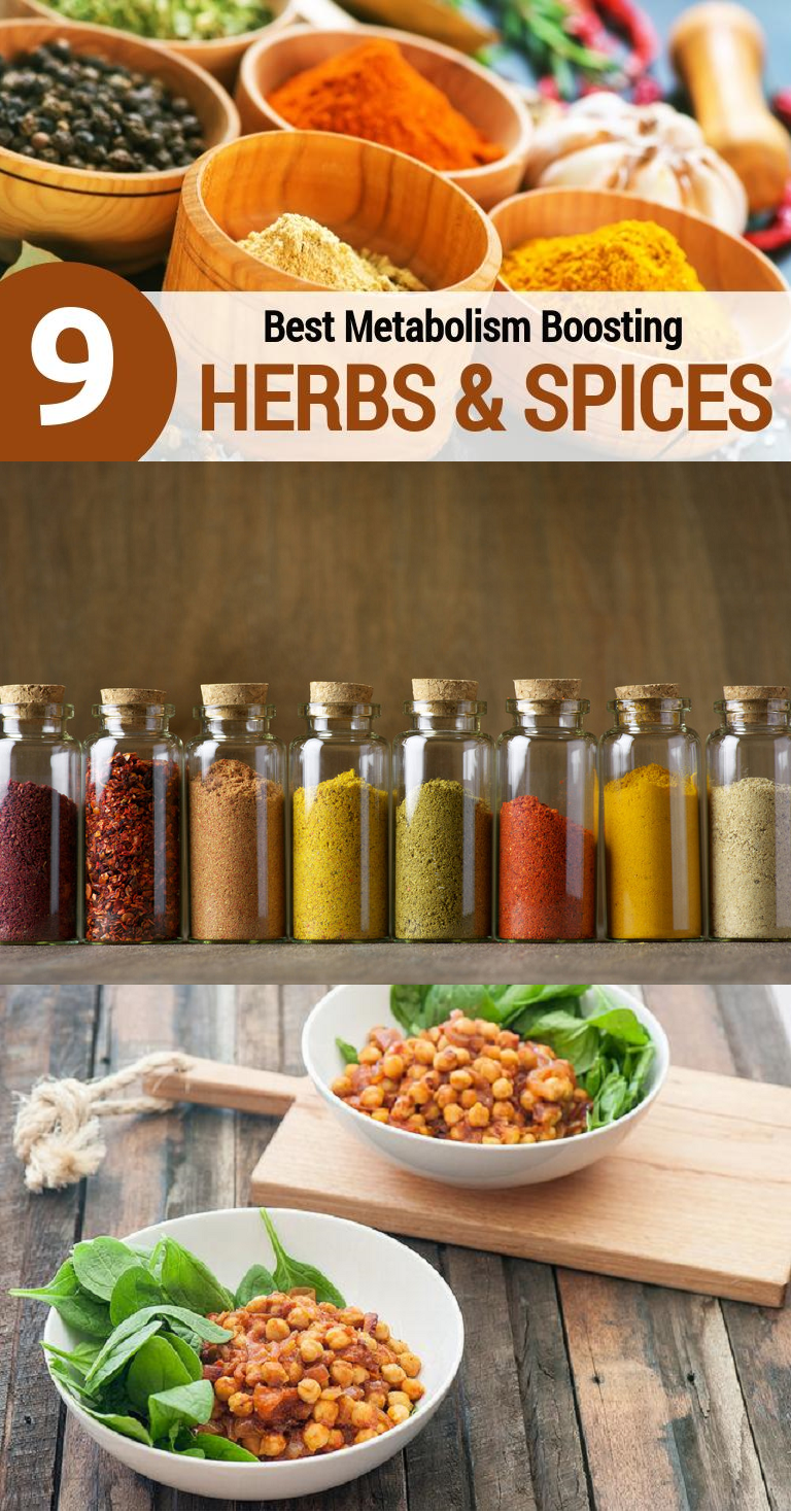 Top Metabolism Boosting Herbs & Spices (With images