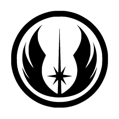 Star Wars Jedi Order Laptop Car Truck Vinyl Decal Window Sticker Pv857 Star Wars Symbols Star Wars Stickers Jedi Symbol