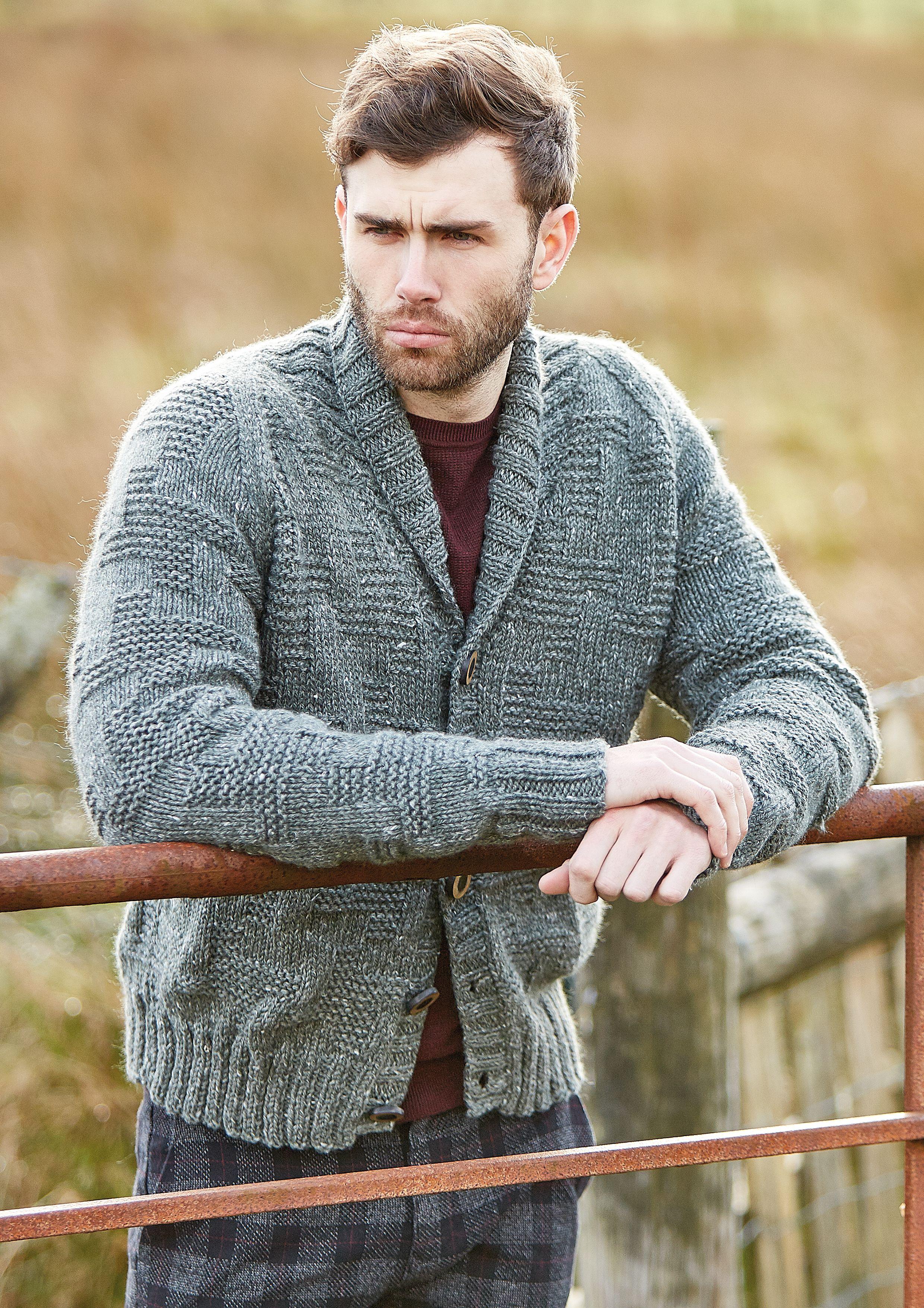 Thorpe | Knitting patterns free sweater, Mens knitted ...