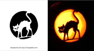 pumpkin carving designs cats - Google Search #pumkincarvingdesigns