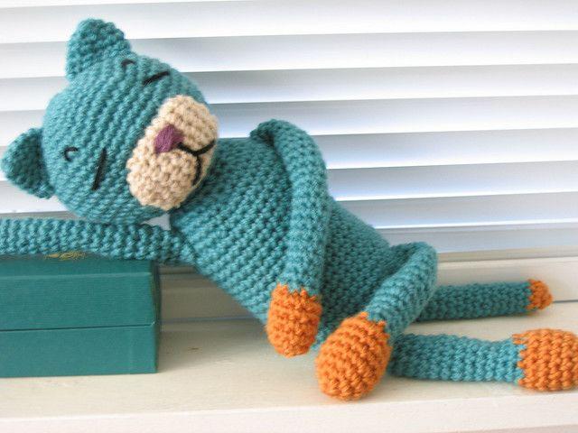 """free cat crochet patterns   Amineko"""" crochet cat 1   Flickr - Photo Sharing!"""