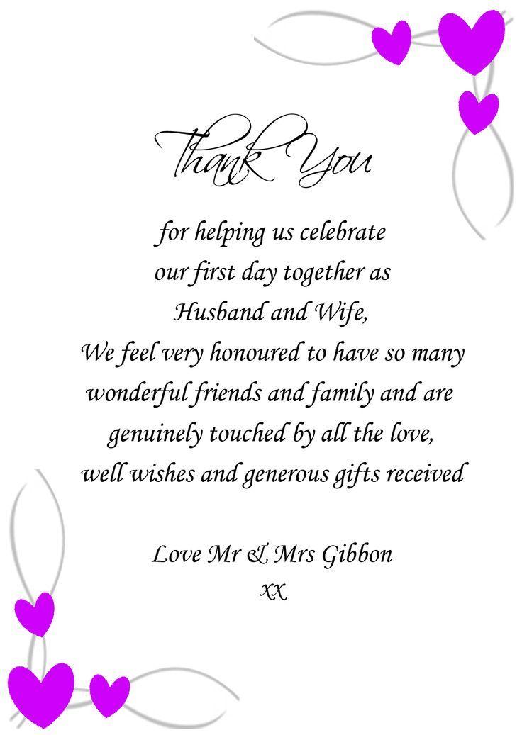 Pin by lori johnson on programs wedding thank you quotes