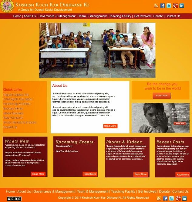 A proposed Website Template for an NGO organization This NGO had - ngo templates