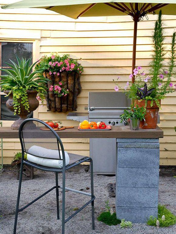 10 ideas para usar bloques de cemento en tu casa bloques for Bloques de cemento para jardin