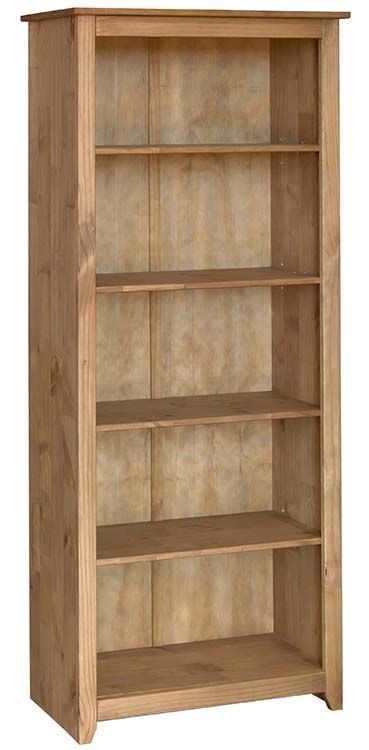 Mexican Tall 5 Shelf Bookcase Clearance Home