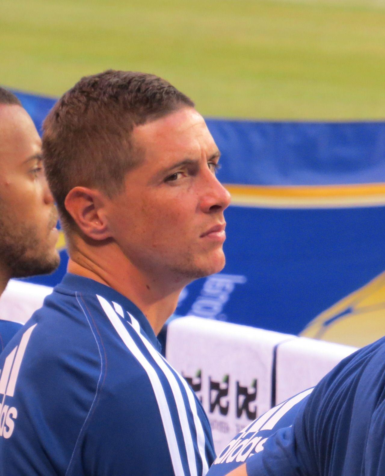 Fernando Torres. Chelsea 2-0 Internazionale. International Champions Cup. Thursday, August 1, 2013.