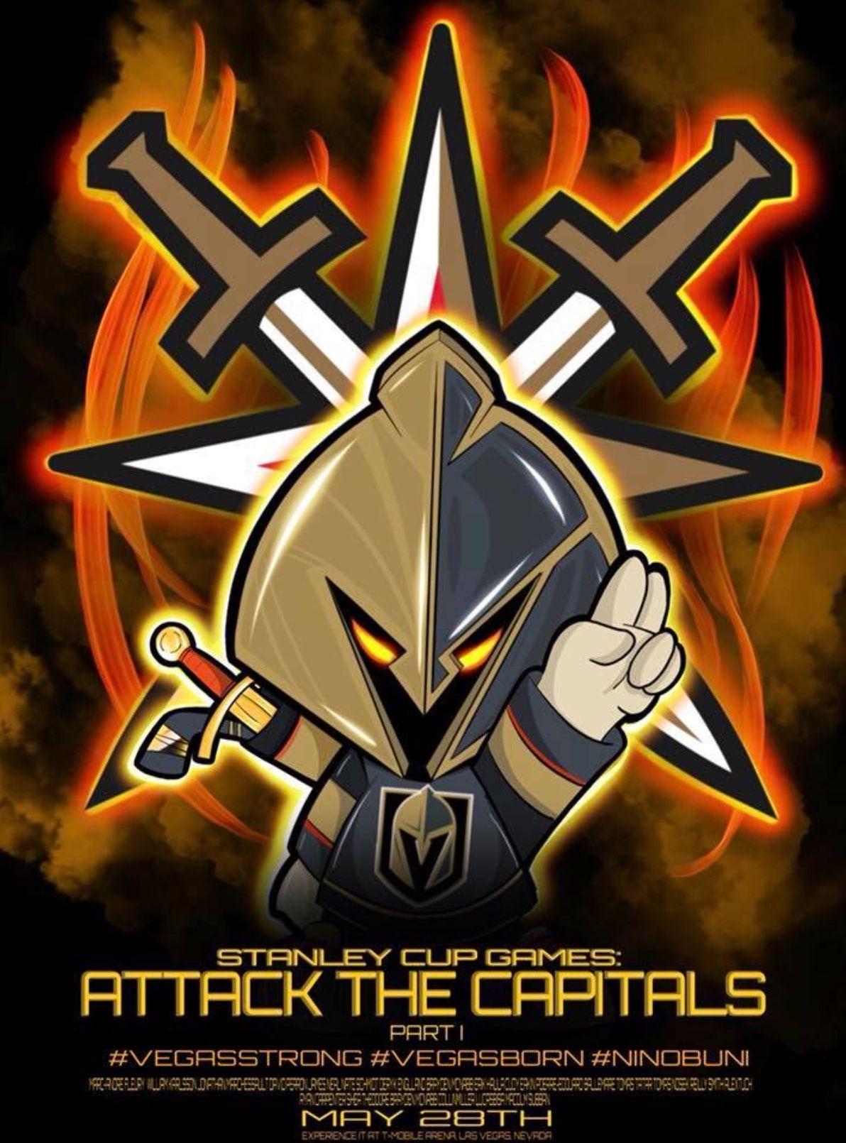 Artist Credit Ninobuni Aka Juan Muniz Vegas Golden Knights Golden Knights Hockey Golden Knights