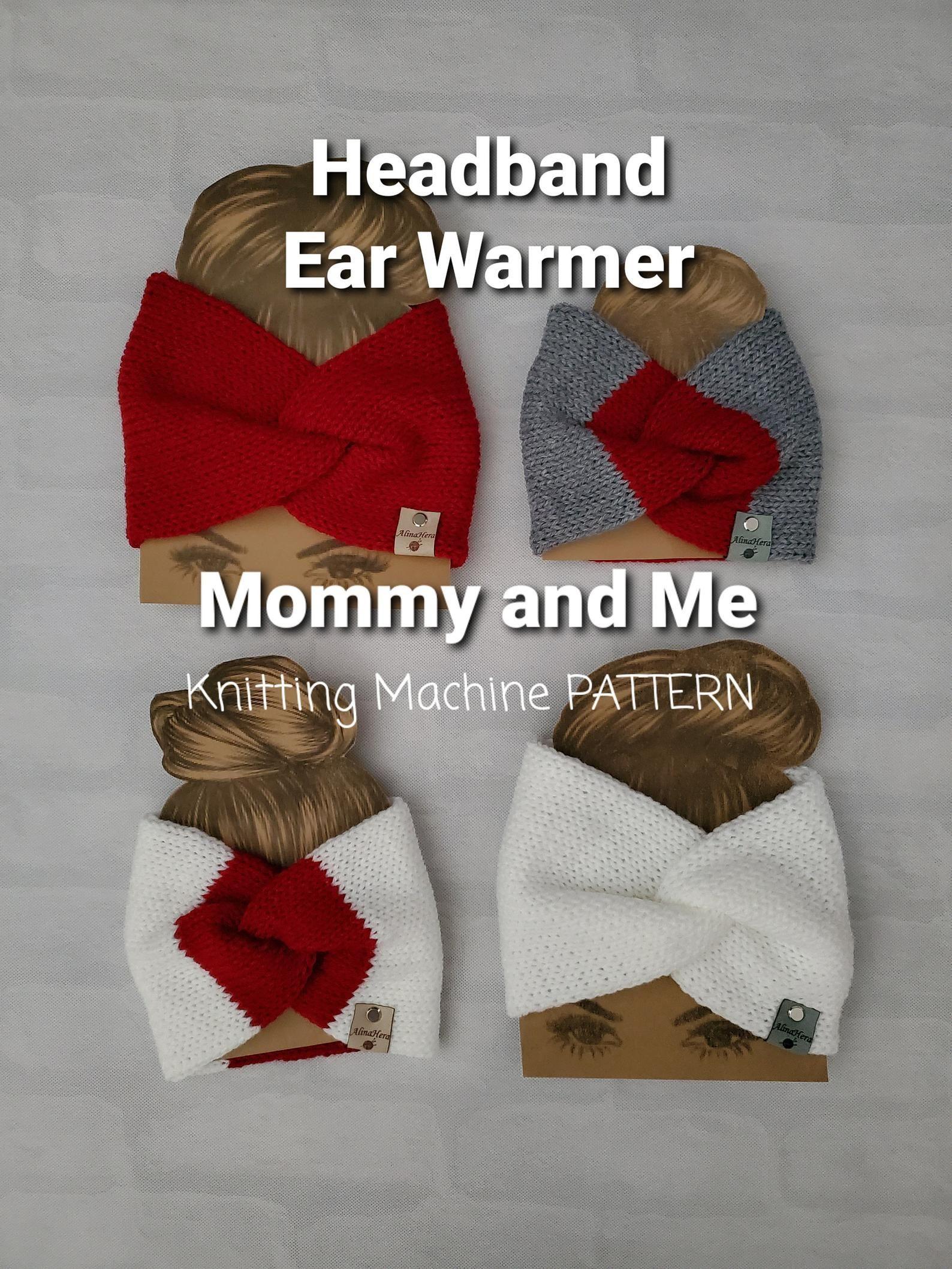 Knitting Machine Ear Warmer Pattern