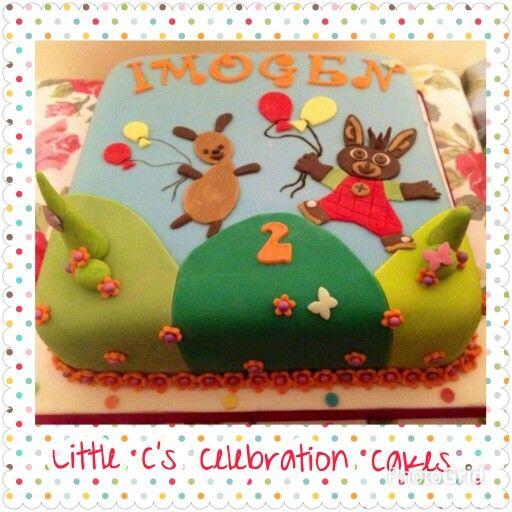 Bing bunny birthday cake #Bingbunny #2ndbirthdaycake | Festa