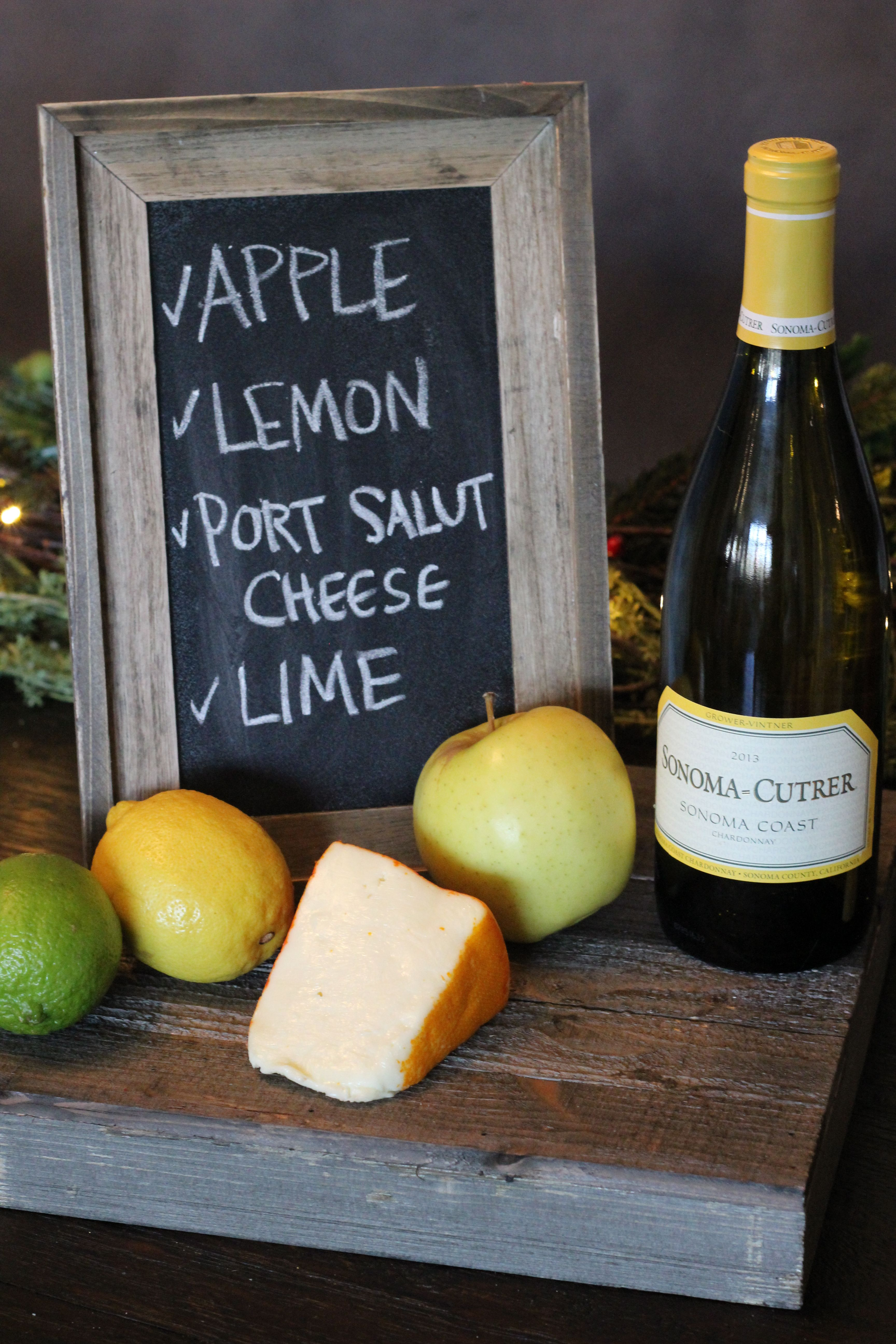 Treat your palate! Pair Sonoma-Cutrer Sonoma Coast Chardonnay with these flavors for a rich wine tasting.