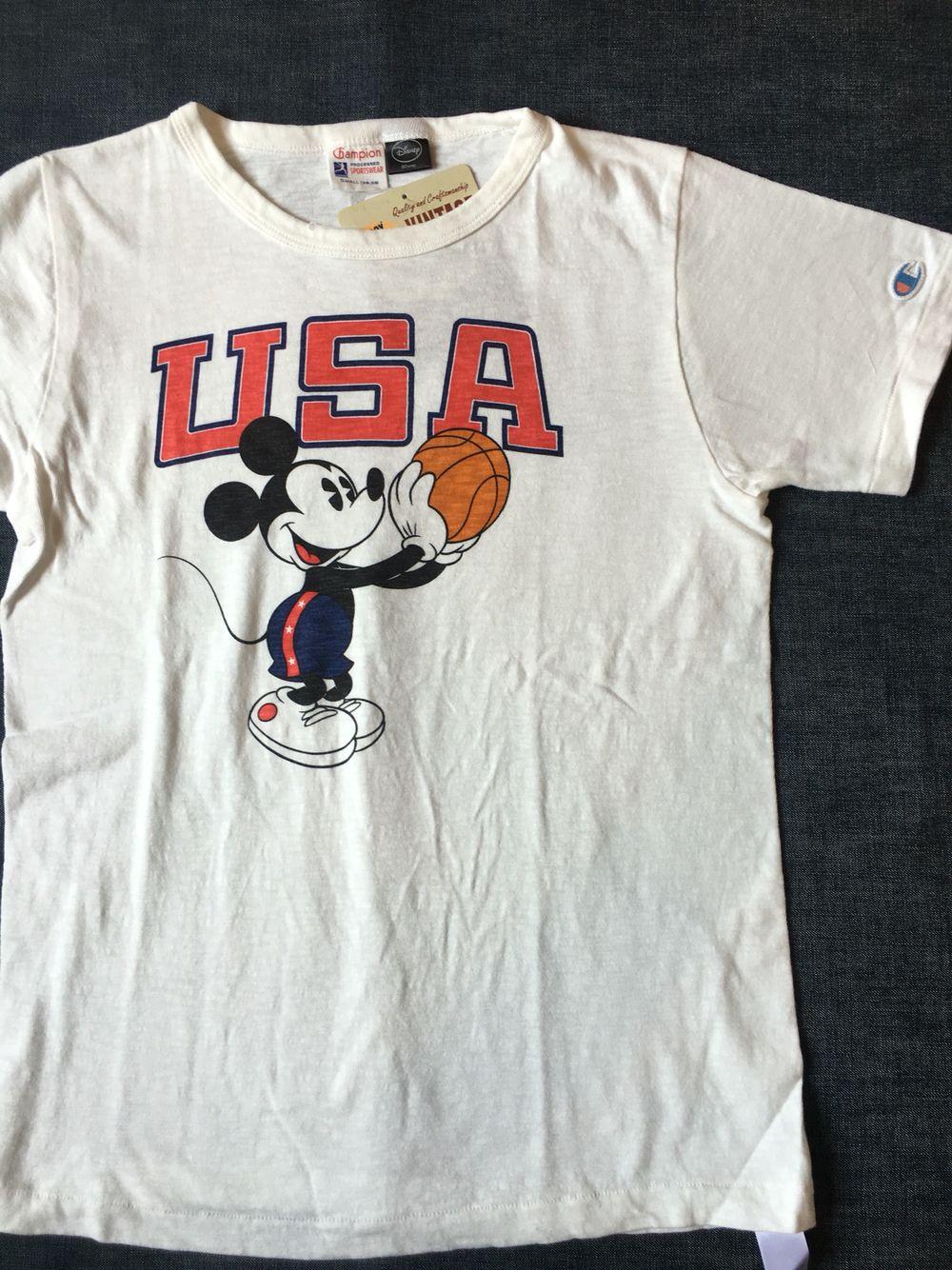 チャンピオンからロジェスターのミッキーU.S.A.Tシャツが入荷しました。本体価格¥6,500(+tax)