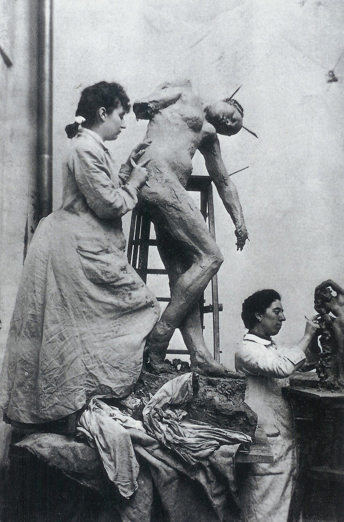In The French Town Of Nogent Sur Seine The Musee Camille Claudel Opened Last Month With 43 Of The Artist S Sculpt Camille Claudel Artist Studio Artist At Work