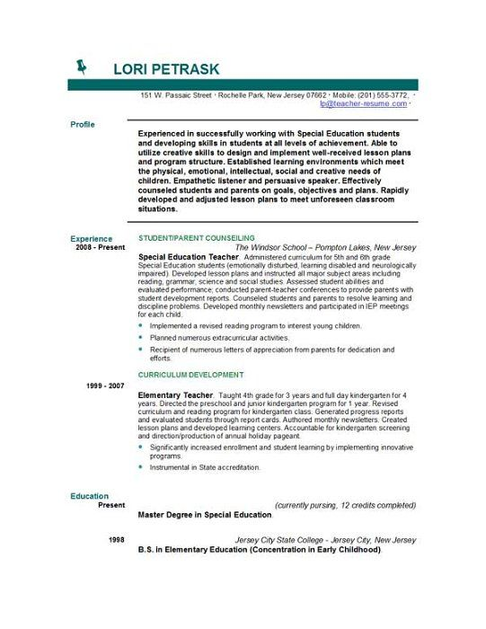 teacher resumes with quotes quotesgram brilliant resume examples - quotes for resumes