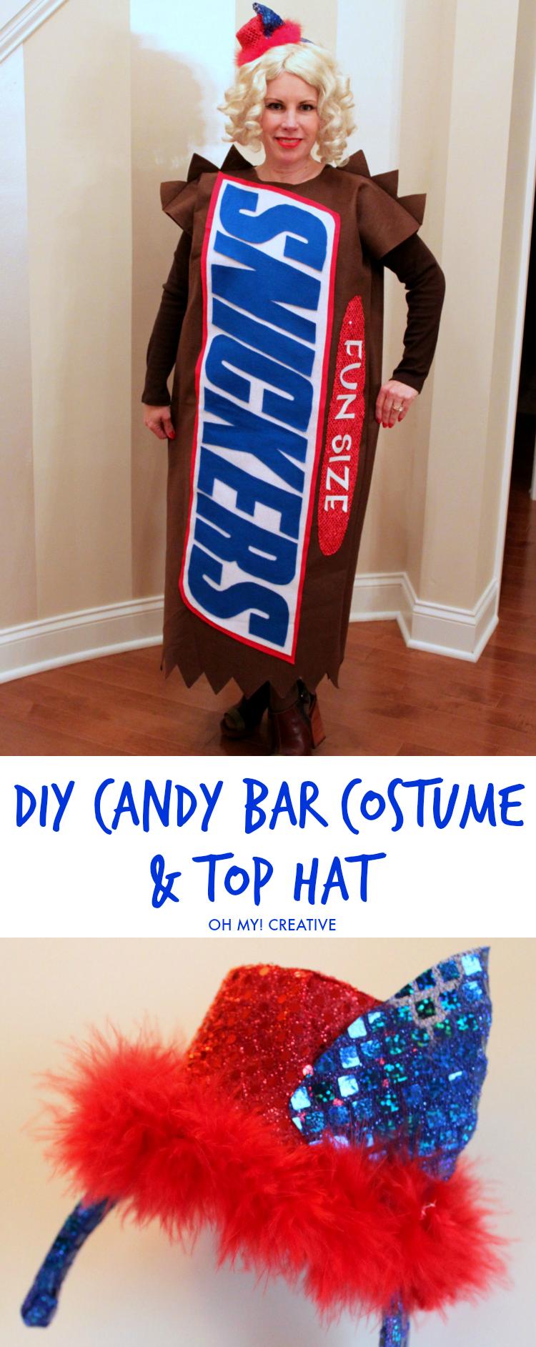 DIY Candy Bar Halloween Costumes   Halloween costumes, Costumes ...