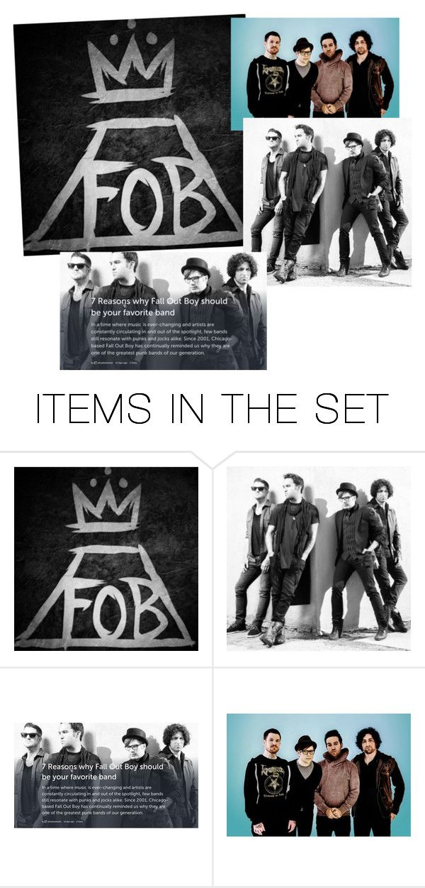 """""""Random Fall Out Boy"""" by youngblooded-killjoys ❤ liked on Polyvore featuring art"""