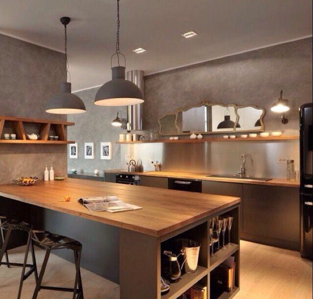 Cozinha gourmet su casa es mi casa pinterest for Barras e islas para cocinas