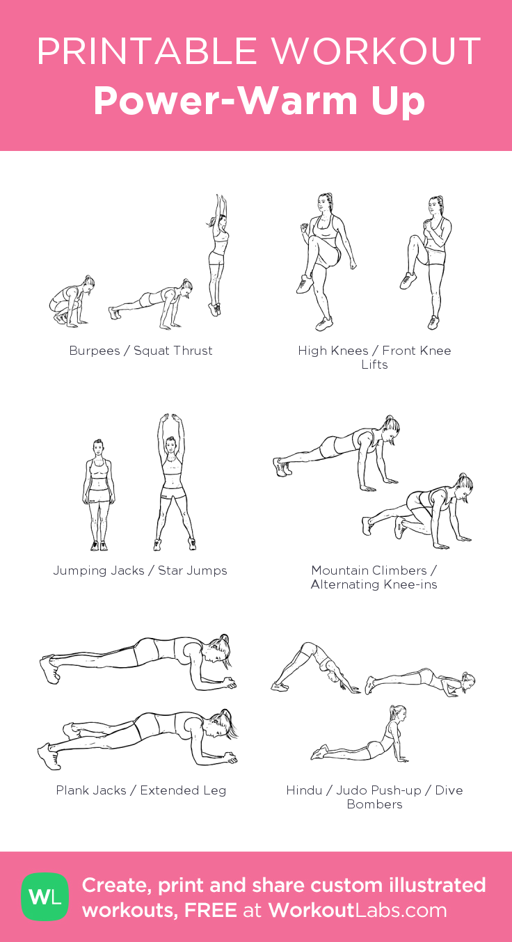PowerWarm Up my visual workout created at WorkoutLabs