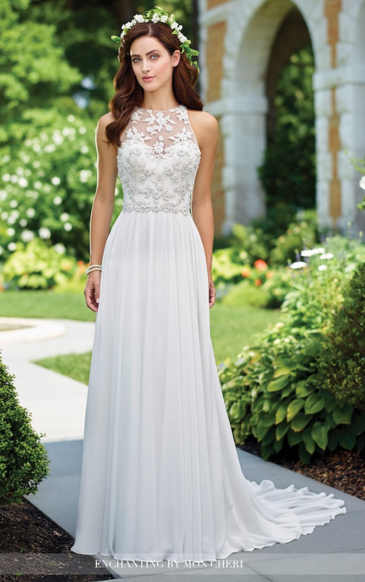 Ethereal Lightweight Wedding Dresses To Love Mon Cheri Wedding