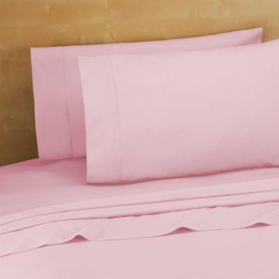 220 Thread Count 100% Cotton King Pillowcases In Pink (Set Of 2