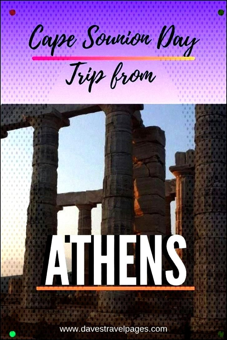 Of Poseidon Day Trip From Athens Greece Positioned On The Edge Of The Aegean Just A Short Distance