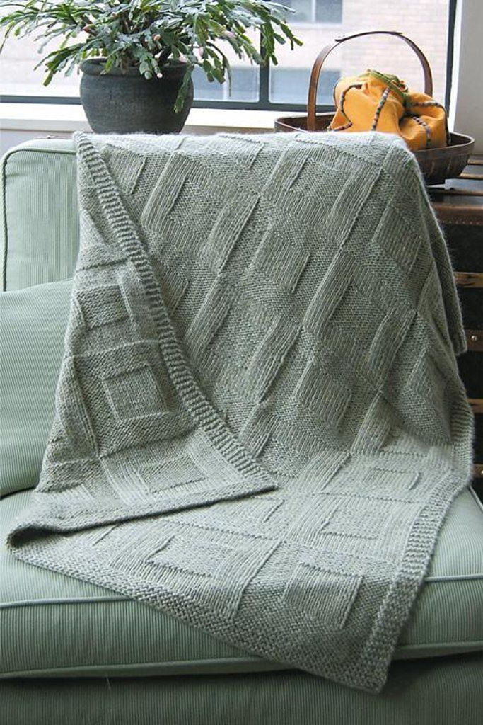 Reversible Afghan to Knit | Afghans, Knitting patterns and Afghan ...